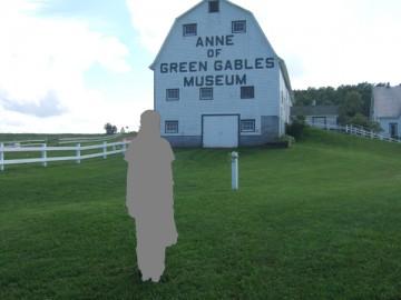 Anne of Green Gables Museumと緑の芝生。