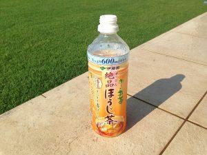 伊藤園のお茶のボトル。