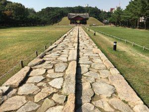 中宗大王の墓、靖陵。